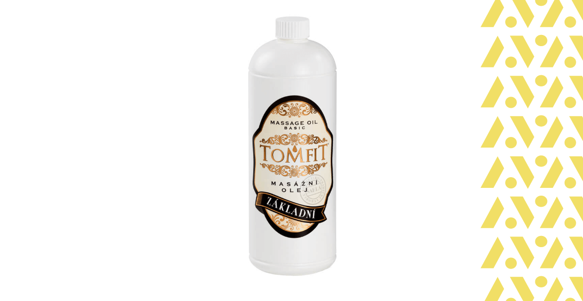 Tomfit masážny olej základný