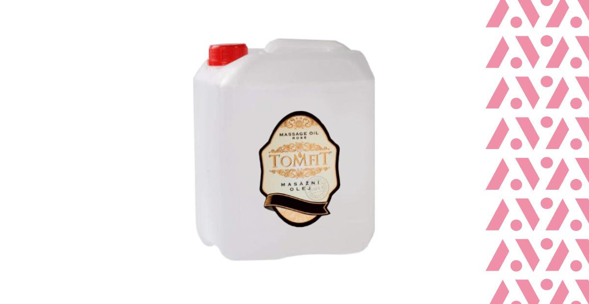 Tomfit masážny olej mandľový