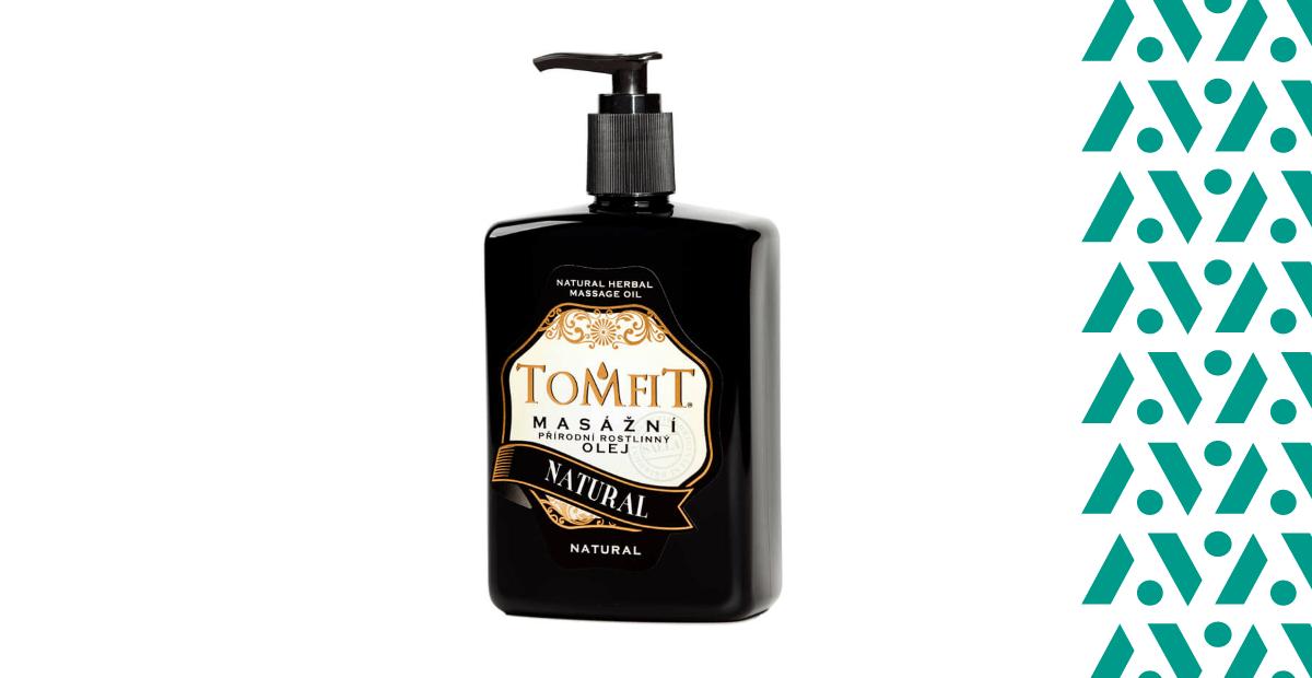 Tomfit masážny olej natural